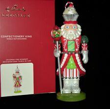 2020 HALLMARK CONFECTIONERY KING Ornament NOBLE NUTCRACKERS
