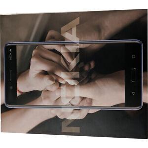 Nokia 8 Single-SIM TA-1012 128GB Glossy Blue Android Factory Unlocked 4G GSM
