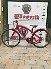Ellsworth's The Ride in Red Commute beach cruiser bike patented design USA3speed