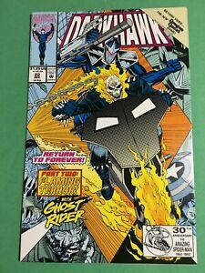 Darkhawk #22 Ghost Rider  Marvel Comics 1992 NM