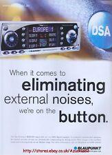 Blaupunkt RDM169 Car Audio 1999 Magazine Advert #700