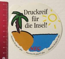 Aufkleber/Sticker: NEC - Druckreif - Pinwriter P6 Plus/P7 Plus (20031614)