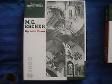 "M C ESCHER ""UP AND DOWN"" JIGSAW PUZZLE 1000 pc free shipping"