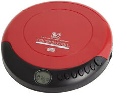 Retro Personal CD Player with 20 Track Programmable Memory, LCD Display