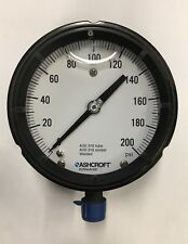 Ashcroft Gauge 45 1279 Ssl 04l 200 45 In Face New Old Stock 225 Value