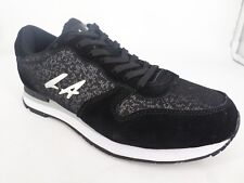 LA GEAR PARADISE HIGH Trainers Black/Silver UK 5 EU 38 LN39 45