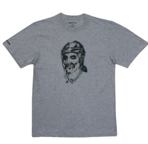 Easton Joker Hockey Player Senior Gray Hockey T-Shirt in sizes Medium - XL