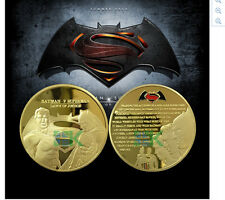 Batman vs Superman Dawn of Justice Gold Coin Batman Movie
