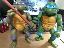 Donatello & Leonardo Teenage Mutant Ninja Turtles 13 in Figures (1989)