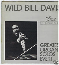 LP WILD BILL DAVIS GREATEST ORGAN SOLOS EVER (JAZZ CONNAISSEUR)