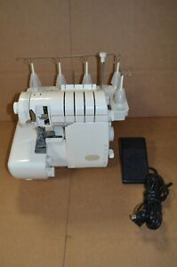 Baby Lock Evolve Coverstitch Serger Model BLE8 Sewing Machine **READ**