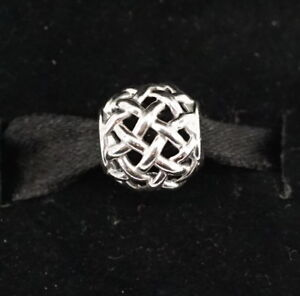NEW Authentic Pandora Silver Forever Entwined Charm 790973