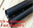 24mm x 20mm 22mm x 1000mm 3K Roll Wrapped Carbon Fiber Tube /Tubing Glossy US