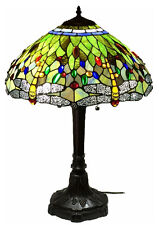 tiffany stained glass lamp. Tiffany Style Stained Glass Lamp \ A