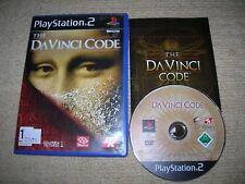 THE DA VINCI CODE - Rare Sony PS2 Game