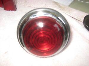 1 Single Lucas 488 Lens Glass Austin Healey Jaguar #575003 CP 8