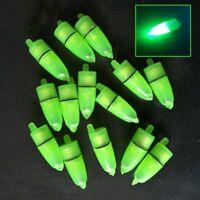 10 Pcs Flagship LED Light Night Float  Ring Fishing Rod Bite  HOT