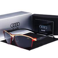 2019 Audi Brand Men's Sunglasses Polarized Classic UV400 Men Glasses Summer New