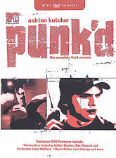 Punk'd - The Complete First Season One 1 Punked Tv Show Ashton Kutcher117 NEW