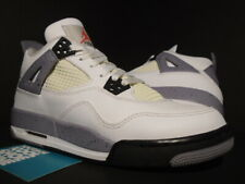 NIKE AIR JORDAN IV 4 RETRO GS OG WHITE BLACK CEMENT GREY FIRE RED 408452-103 6
