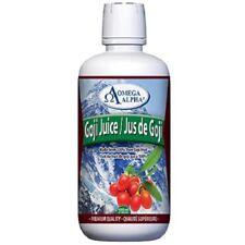 Goji Juice 1 L - Omega Alpha Pharmaceuticals, Human Anti-Oxidant Formula