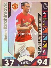 Match Attax 2016/17 Premier League - LE2S Zlatan Ibrahimovic - Limited Edition