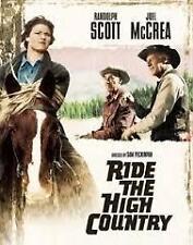 Ride The High Country Randolph Scott Joel McCrea Region 4 DVD VGC