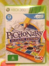 XBOX 360 PICTIONARY ULTIMATE EDITION Game Brand New In Sealed Pack