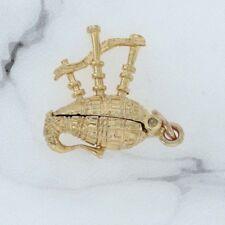 Oro 9ct nuevo monstruo del Lago Ness encanto