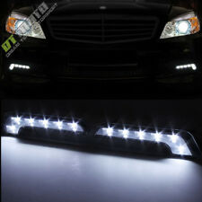 6W Benz L Shape Turn Signal Driving Day Time Head DRL Led Lights Fog Lamps+Wire