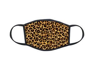 Masque en tissu lavable personnalisé Animal Skin leopard design 02