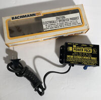 Vintage NOS Bachmann HO Scale Hobby Transformer Power Pack Electric Trains