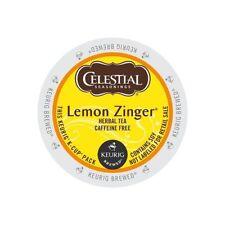 Celestial Seasonings K-Cup Portion Tea - Lemon Zinger Herbal, 24 Ct