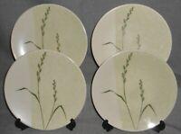 Set (4) Mikasa SOFT BREEZE PATTERN Salad Plates