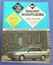 Revue technique l'expert automobile no RTA 256 (1988) Audi 80/90