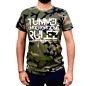 """Tunnel Shirt """"UNDERGROUND RULEZ"""" Camouflage Boys • Größe L"""