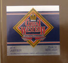 VINTAGE CANADIAN BEER LABEL - GREAT WESTERN BREWERY, LAGER