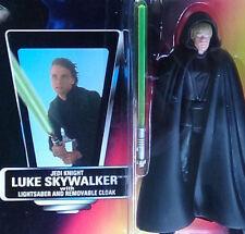 Luke Skywalker Jedi Knight Unopened Star Wars POTF2 1995 Action Figure Red Card