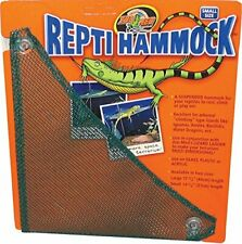 "ZOO MED MESH REPTI HAMMOCK SMALL 14"" REPTILE. FREE SHIPPING TO THE USA ONLY"