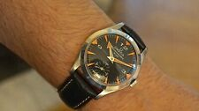 Vintage OMEGA Seamaster Watch, Black Crosshair Dial, 1958, cal 267, 36.5 mm
