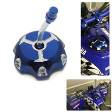 Aluminum Gas Tank Fuel Cap Petrol for Blue Yamaha Banshee Blaster Warrior
