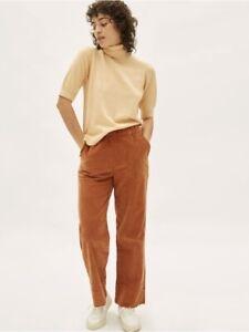 Vintage 1970s corduroy button fly crop pants women/'s 6