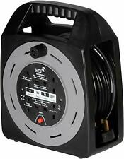 SMJ électrique 4 Outlet 25 m gris Power Extension 13 A PLOMB