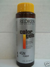 Original Redken COLOR GELS Permanent Liquid Hair Color~ 2 oz~ BUY 3; GET 1 FREE!