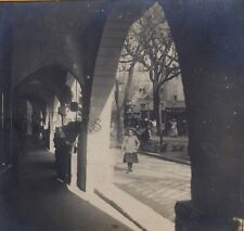 Grasse Les Arcades France Stereo Vintage Argentique