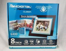 Pandigital 8 Inch Digital Photo Frame 1 GB 6400 Images 3 Mats NEW