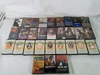 Lot Of 29 80-90s Country Cassette Tapes Brooks Alabama elvis cash rabbit Bandy