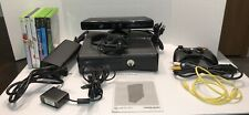 New listing Microsoft Xbox 360 Kinect Bundle 250Gb Black Console Oem Controllers 6 Games