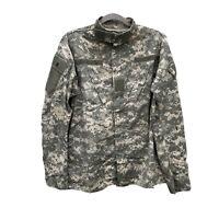 US Airforce Military Digital Camo Shirt - Sz Small- Long