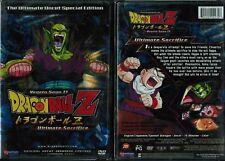 Dragon Ball Z Vegeta Saga 2 Vol 2 Ultimate Sacrifice Anime DVD Funimation Uncut